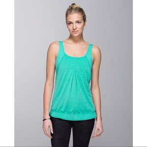 Lululemon Run Times Tank, Bali Breeze Green, 12